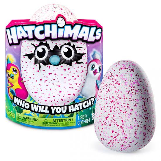 Интерактивное Умное Яйцо Hatchimals Spin Master, Интерактивная игрушка Хэтчималс яйцо в ассортименте