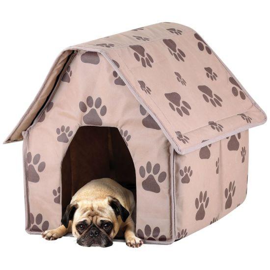 Портативная мягкая будка для собак Portable Dog House
