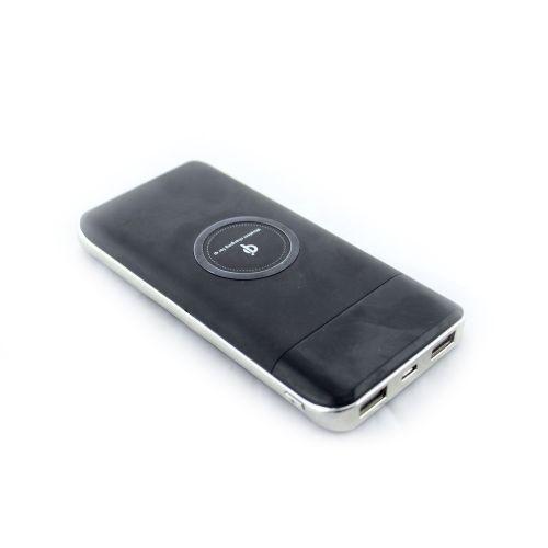 УМБ портативная беспроводная зарядка Wireless Power Bank USB Type-C 27800 mAh Black