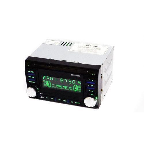 Автомобильная магнитола ISO Pioneer MP3-9902 2DIN 500Wx4 автомагнитола MP3 USB AUX FM с евро разъемом