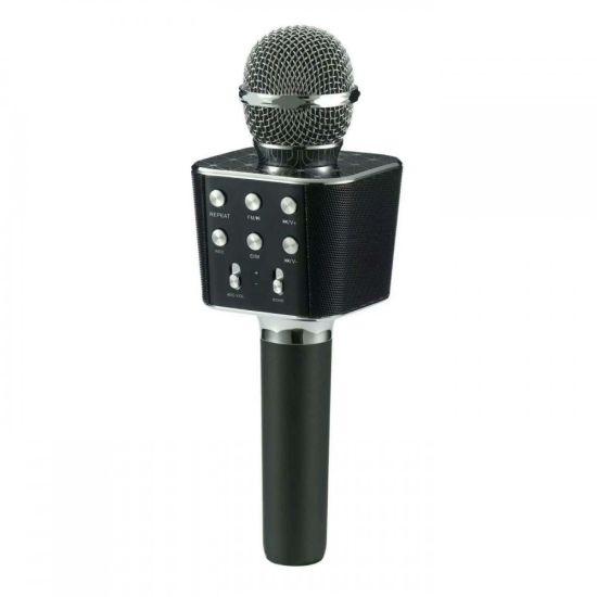 Беспроводной микрофон караоке bluetooth Wster WS1688 Черный
