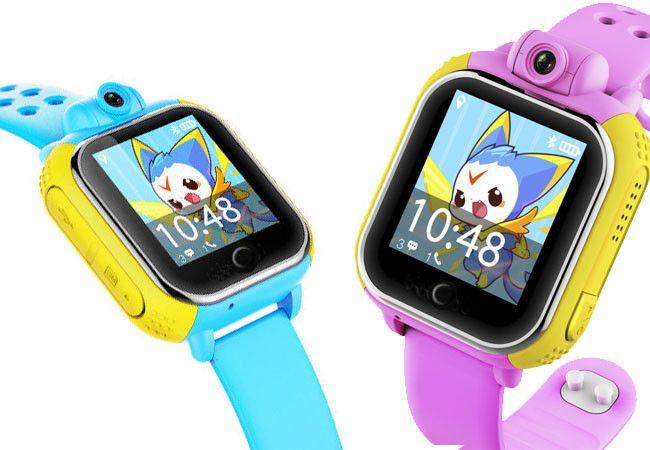 Умные детские часы Smart Baby Watch Excelvan TW6-Q200 с функцией GPS трекера