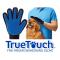 Перчатка для вычесывания шерсти животных True Touch Тру Тач
