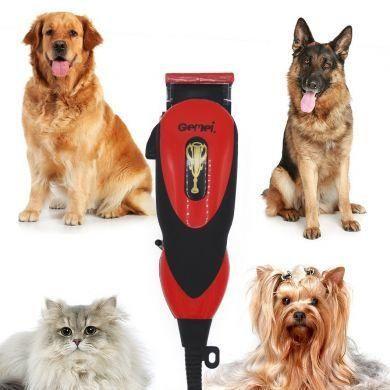 Проводная машинка для стрижки собак Gemei GM-1023 животных, котов