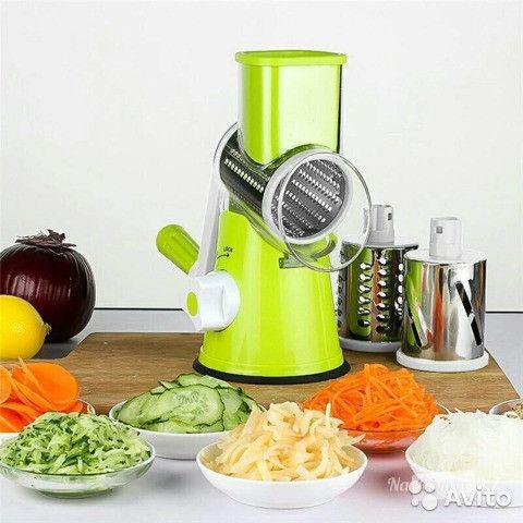 Мультислайсер Kitchen Master овощерезка, терка для нарезания овощей и фруктов Китчен Мастер