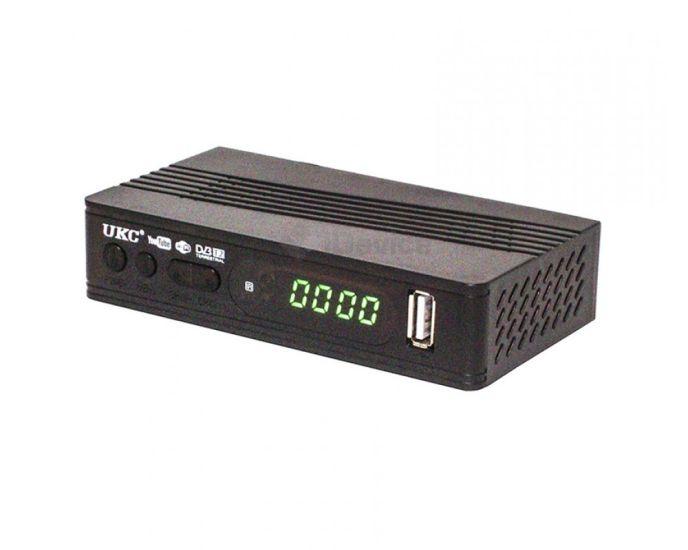 Цифровой эфирный Тюнер T2 UKC 0967 wi-fi DVB-Т2 ресивер