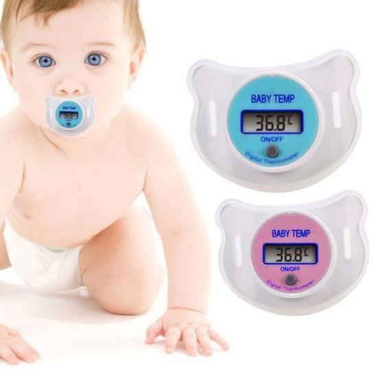 Цифровой термометр в виде соски термометр BT-708, Пустышка для измерения температуры у младенцев