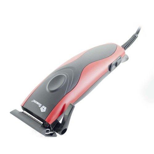 Проводная машинка для стрижки волос Domotec MS-3304 12W Red Красная