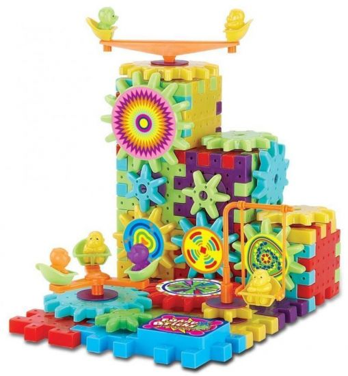 Детский развивающий конструктор 3D Funny Bricks (Фанни Брикс) 81 деталь