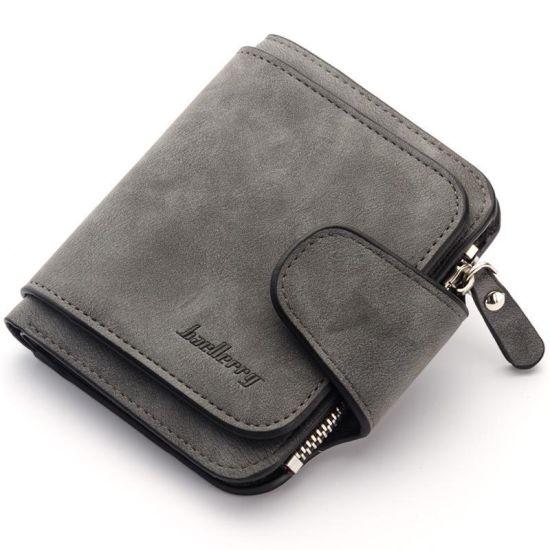 Женский замшевый кошелек Baellerry Forever Mini N 2346 Grey Серый
