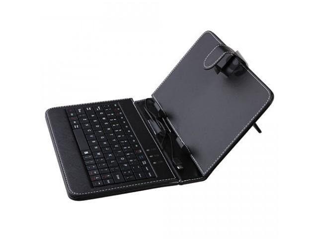 """Чехол клавиатура для ПК планшета 10"""" usb, micro, mini usb"""