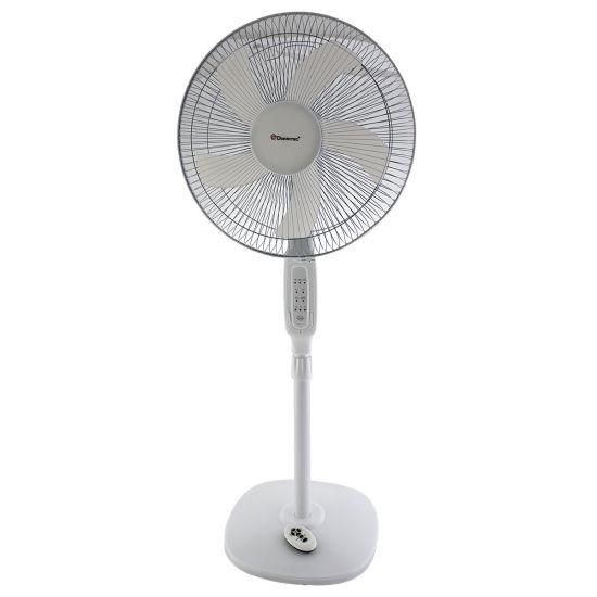 """Напольный вентилятор Domotec MS-1621 с таймером и пультом 44 см stand fan 17"""" 40W"""