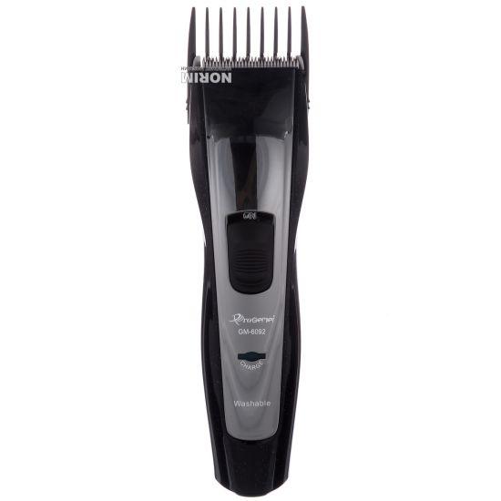 Аккумуляторная машинка для стрижки волос Gemei GM-6092, беспроводная