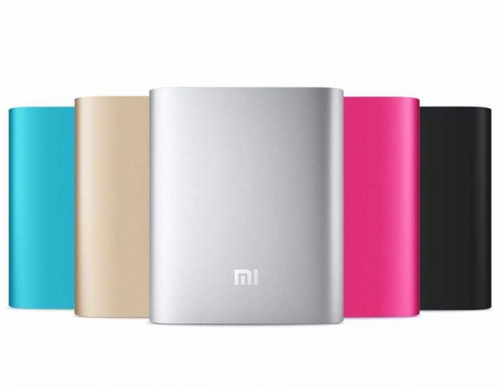Аккумулятор зарядное Xiaomi MI Power Bank 10400 mAh Gold, Silver, Black