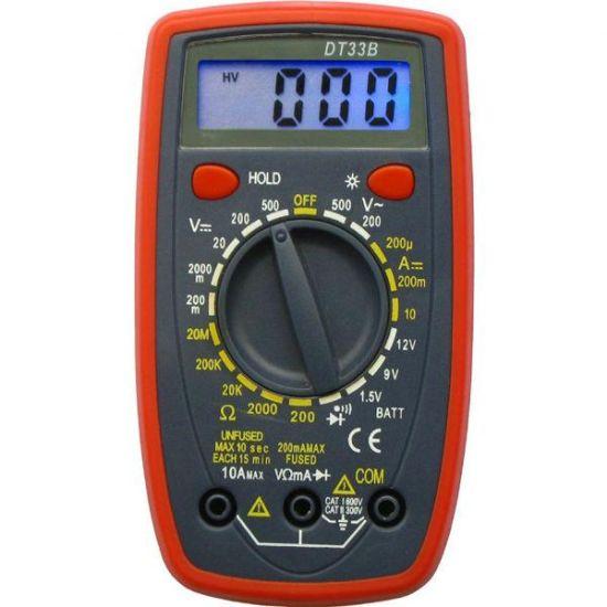 Карманный цифровой многофункциональный мультиметр Digital DT33B в эргономичном корпусе