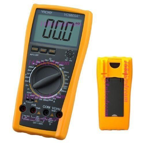 Цифровой мультиметр VC9805 измерительный прибор противоударный холстер цифровой