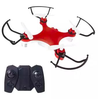 Радиоуправляемый мини квадрокоптер Folding Drone mini 188 с пультом управления