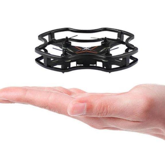 Радиоуправляемый мини квадрокоптер Elves Mini Drone F15 с пультом управления