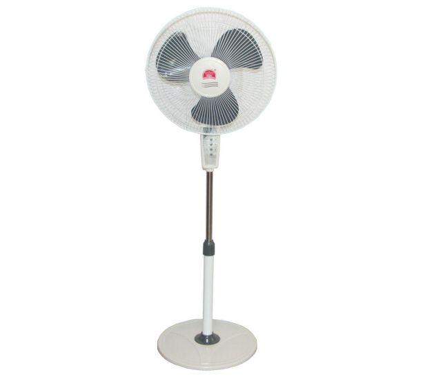 """Напольный вентилятор Changli Crown FS-1608 с таймером и пультом 44 см stand fan 17"""" 40W"""