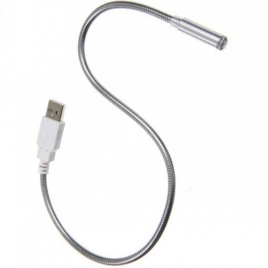 Гибкая USB Led подсветка для ноутбука, фонарик, лампа металическая