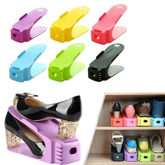 Двойная подставка для обуви Double Shoe Racks LY-500, Органайзер для обуви 6 в 1 - Комплект из 6 шт