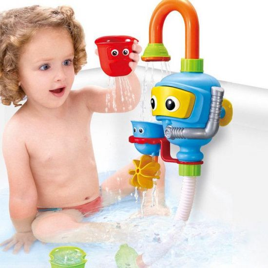"""Развивающая детская игрушка для купания в ванной Baby Water Toys Водопад """"Волшебный кран"""""""