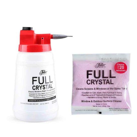 Универсальный нано распылитель для кристальной чистки окон Full Crystal + Концентрат