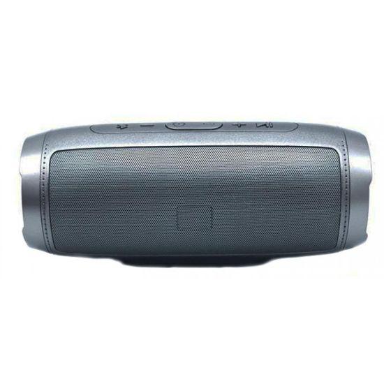 Портативная Bluetooth колонка S1000 Silver cеребристая