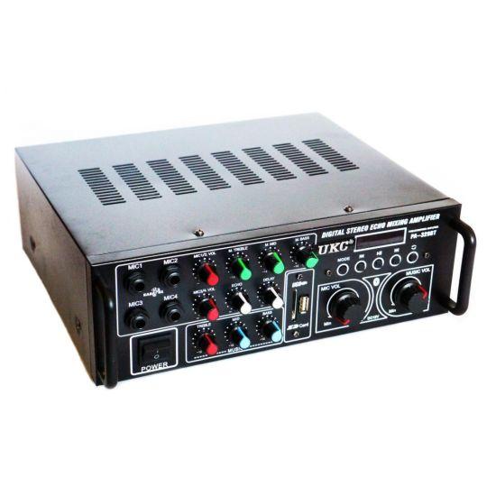 Стерео усилитель мощности звука UKC PA-329BT 240W с караоке и Bluetooth