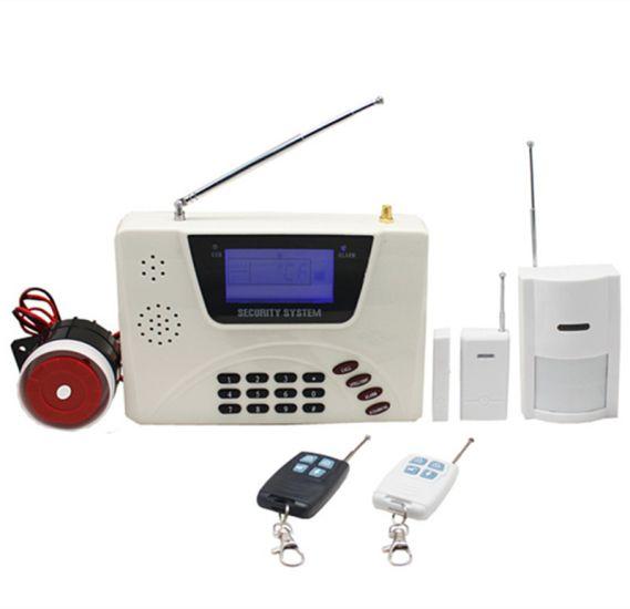 GSM сигнализация для дома с датчиком движения Security Alarm System G360 c Lcd дисплеем и sim картой