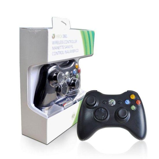 Беспроводной джойстик Microsoft Xbox 360 Black Оригинал Черный