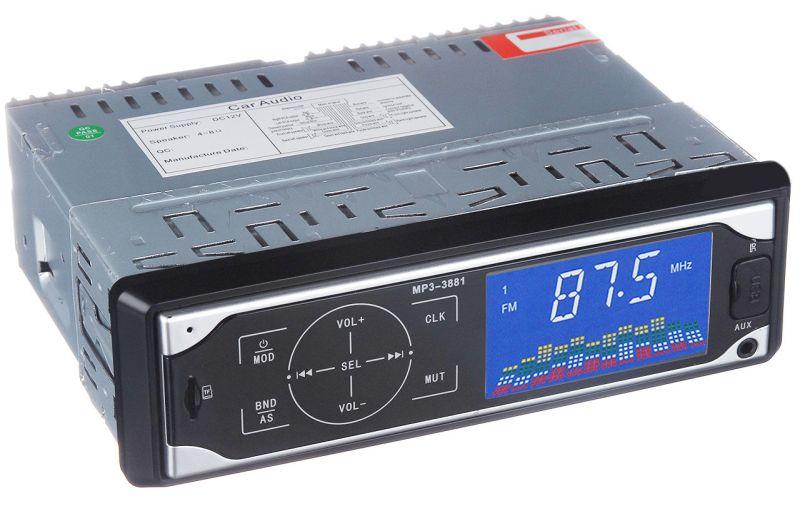 Автомобильная магнитола ISO Pioneer MP3-3881 автомагнитола с сенсорными кнопками