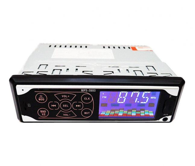 Автомобильная магнитола ISO Pioneer MP3-3884 автомагнитола с сенсорными кнопками
