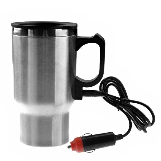 Автомобильная термокружка с подогревом Electric Mug 140Z 400мл 12V чашка в машину 2240