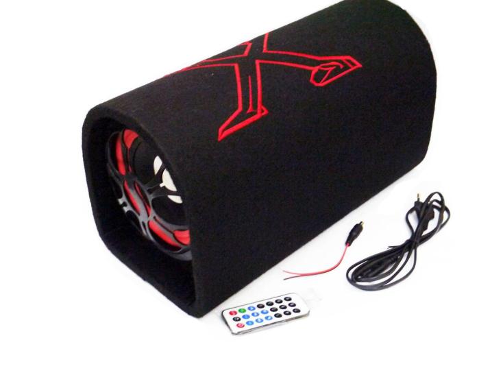 """Автомобильный активный Bluetooth сабвуфер бочка Xplod T-0101000W 10"""" дюймов"""