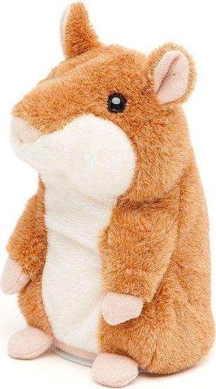 Интерактивная игрушка говорящий хомяк Woody O'Time WT0502 Brown, повторяет слова коричневый