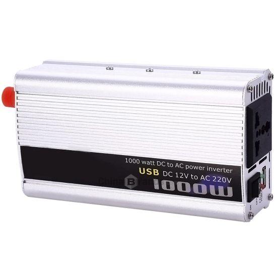 Автомобильный инвертор 12V-220V 1000W преобразователь напряжения, 12В 220В 1000Вт