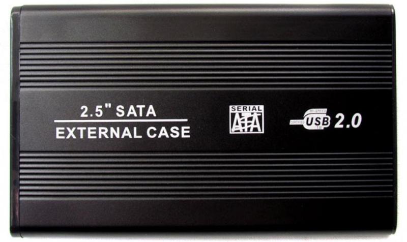 """Внешний карман Grand-X U25 для 2,5"""" USB 2.0 SATA HDD диска External Case для жесткого диска"""