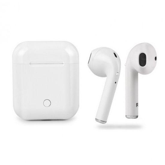 Беспроводные Bluetooth наушники Apple i8P TWS airpods Ifans White Белые Реплика!