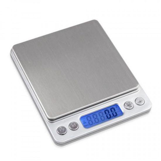 Большие ювелирные весы 0.01 гр до 500 гр Domotec MS-1729B