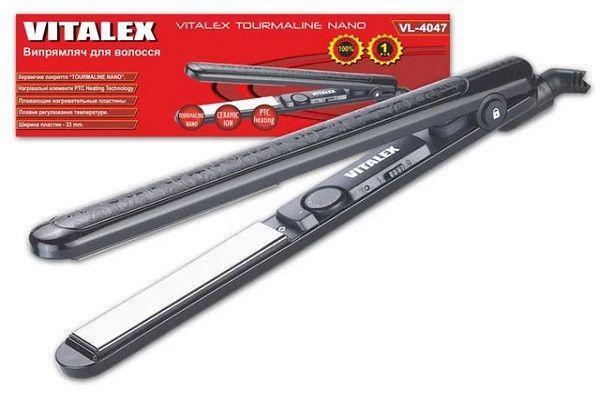 Утюжок плойка Vitalex VT-4047 выпрямитель волос ( Виталекс )