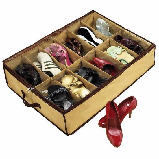 Компактный Органайзер для хранения обуви Shoes under Шузандер,