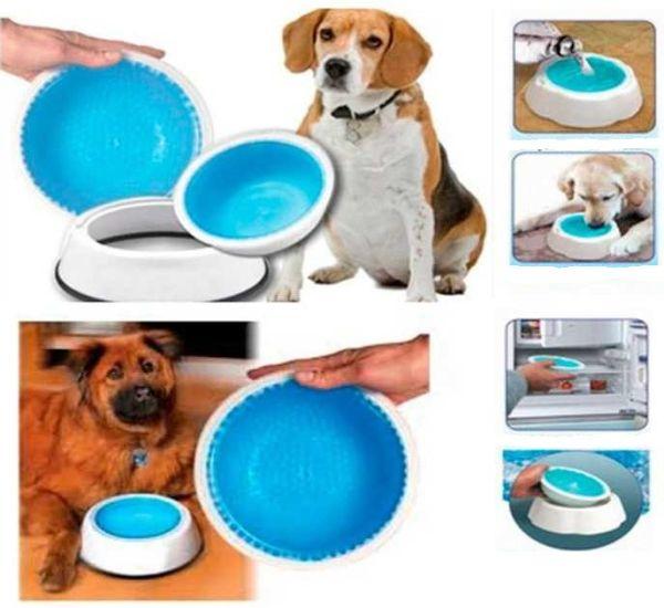 Охлаждающая миска для воды для домашних животных Frosty Bowl для собак и котов