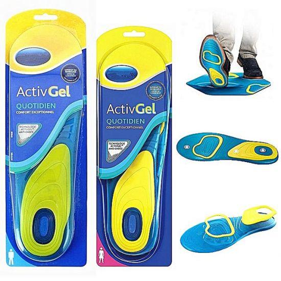 Универсальные гелевые стельки для обуви Scholl Activ Gel Everyday Sholl