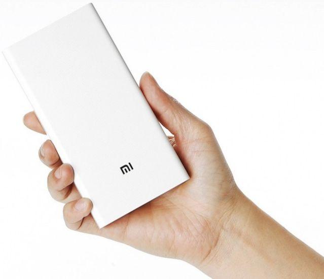 Универсальная батарея Xiaomi Mi Power Bank 20000mAh MI M6 White, внешний аккумулятор
