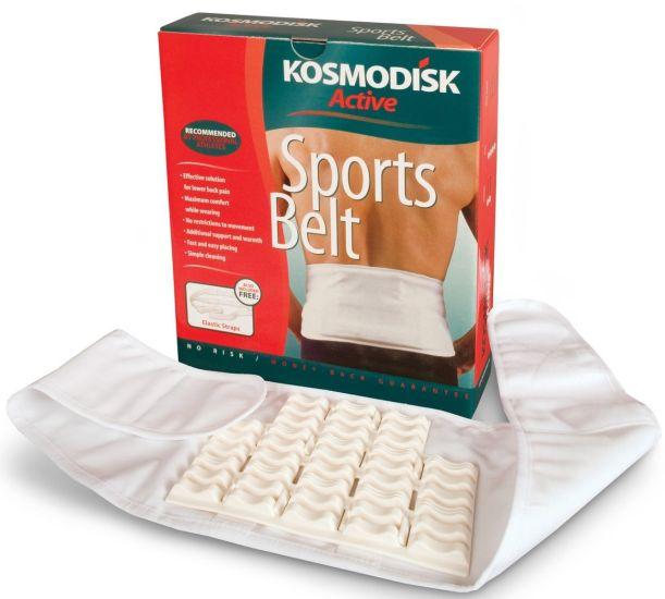 Поддерживающий массажный пояс Kosmodisk Active Sports Belt пояс для спины Космодиск