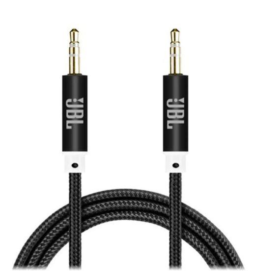 AUX кабель JBL 3.5mm Jack - Jack, Аудио удлинитель 3.5мм 1 метр