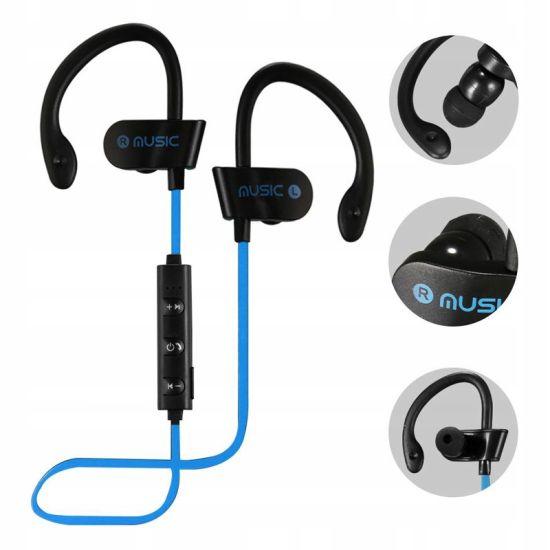 Беспроводные спортивные Bluetooth наушники RT558 BT с креплением на ухо