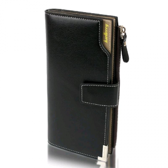Мужской кошелек Baellerry Carteira C1283 Black черный, мужское портмоне, барсетка