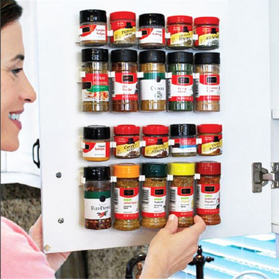 Универсальный кухонный органайзер Clip n Store для шкафов и холодильников